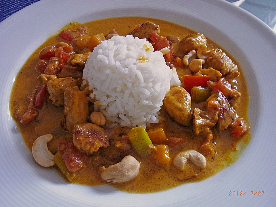 Chicken - Mango - Curry (Rezept mit Bild) von Karukera   Chefkoch.de