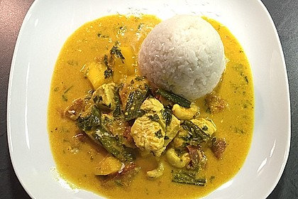 Chicken - Mango - Curry 10