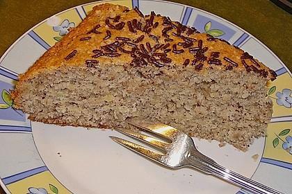 Bananen - Mandel - Kuchen 8