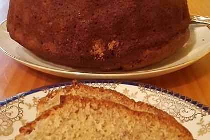 Bananen - Mandel - Kuchen 12