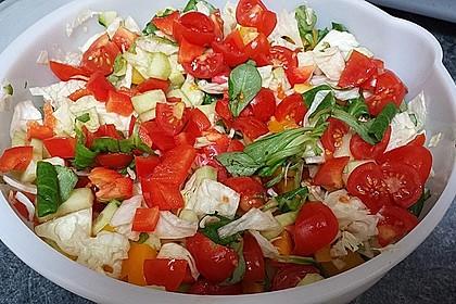 Gemischter Sommer - Salat 1