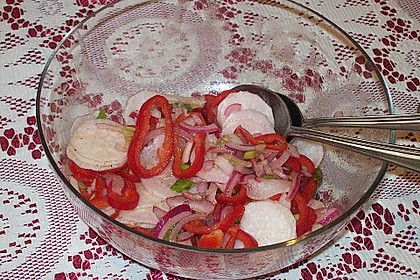 Gemischter Sommer - Salat 2