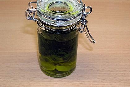 Basilikum - Knoblauch Öl 1