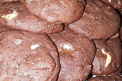 Chewy Chocolate Creamcheese Cookies 36