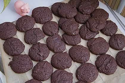 Chewy Chocolate Creamcheese Cookies 11