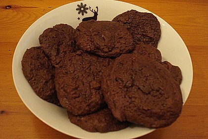 Chewy Chocolate Creamcheese Cookies 15