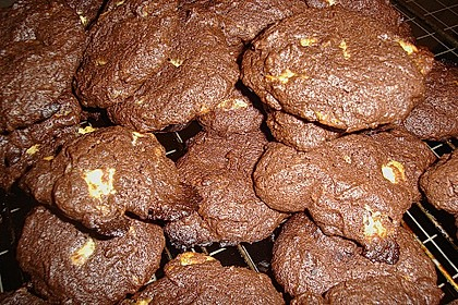 Chewy Chocolate Creamcheese Cookies 64