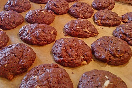 Chewy Chocolate Creamcheese Cookies 42