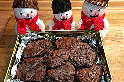 Chewy Chocolate Creamcheese Cookies 14