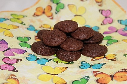 Chewy Chocolate Creamcheese Cookies 4