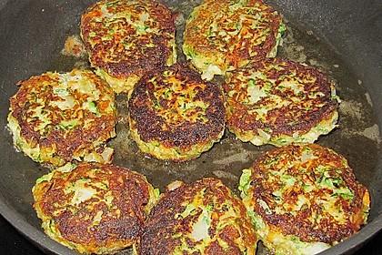 Zucchini-Frikadellen 12