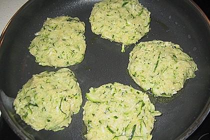 Zucchini-Frikadellen 18