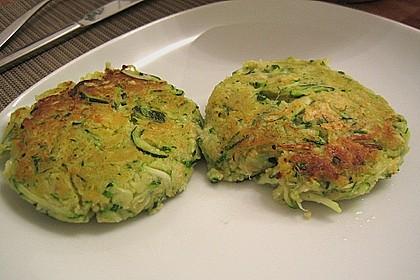 Zucchini-Frikadellen 9