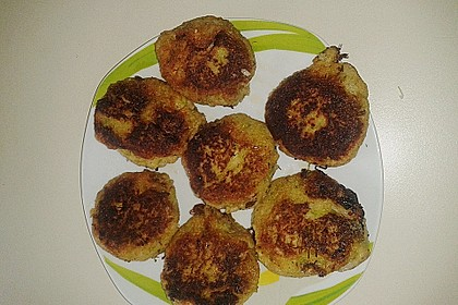 Zucchini-Frikadellen 7