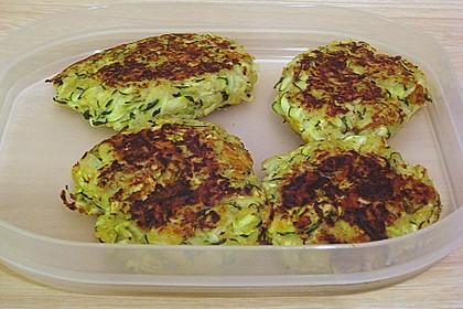 Zucchini-Frikadellen 10