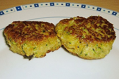 Zucchini-Frikadellen 2