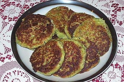 Zucchini-Frikadellen 14