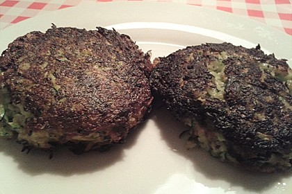 Zucchini-Frikadellen 19