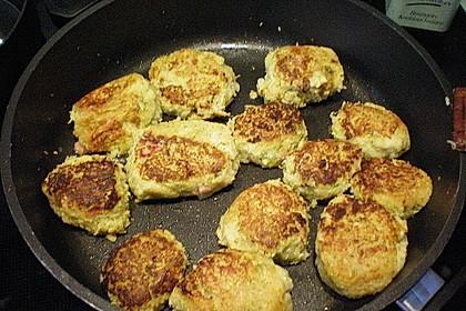 Zucchini-Frikadellen