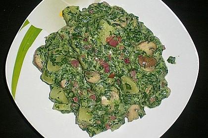 Champignon - Spinat - Pfanne 13