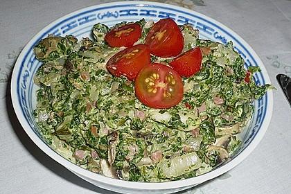 Champignon - Spinat - Pfanne 30