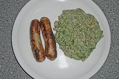 Champignon - Spinat - Pfanne 32
