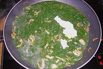 Champignon - Spinat - Pfanne 37