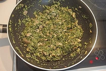 Champignon - Spinat - Pfanne 35