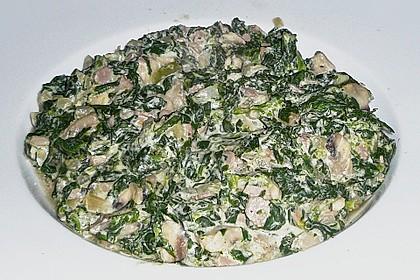 Champignon - Spinat - Pfanne 26