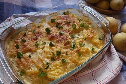 Kartoffelgratin 80