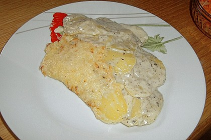 Kartoffelgratin 207