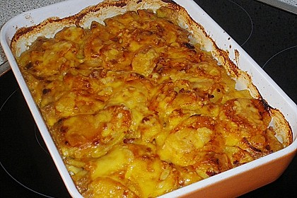 Kartoffelgratin 42