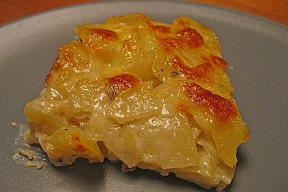 Kartoffelgratin 15