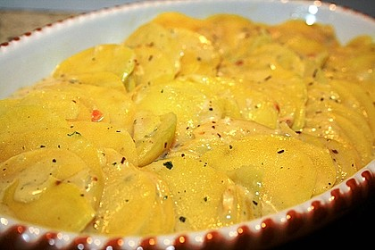 Kartoffelgratin 55