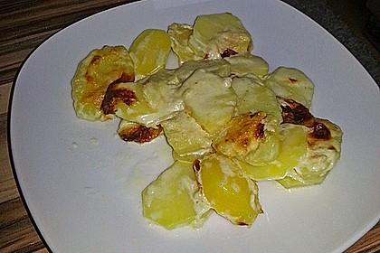Kartoffelgratin 160