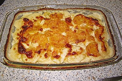 Kartoffelgratin 128