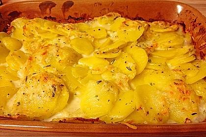 Kartoffelgratin 121