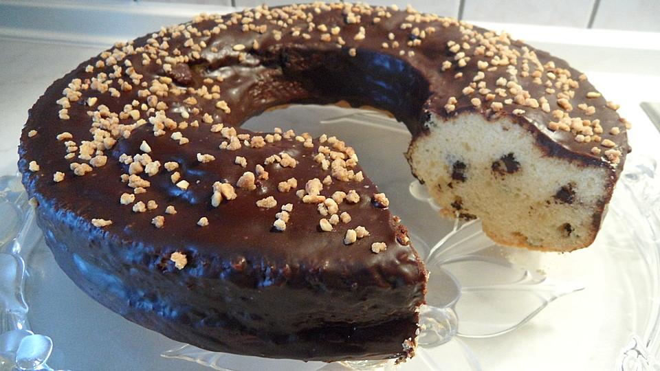 Kuchen mit vanille pulver
