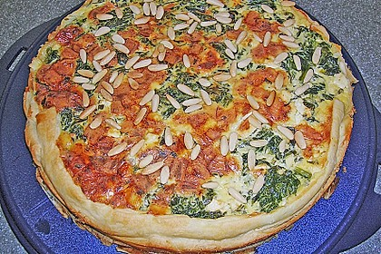 Spinat Quiche 12