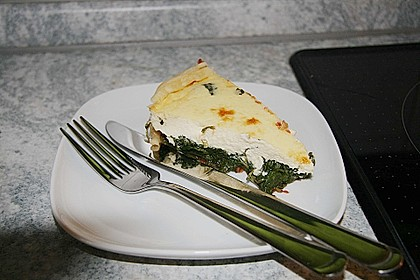 Spinat Quiche 0