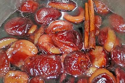 Eingelegte Zwetschgen in Rotwein 21