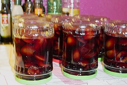 Eingelegte Zwetschgen in Rotwein 18