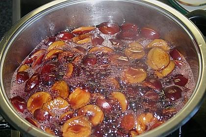 Eingelegte Zwetschgen in Rotwein 32