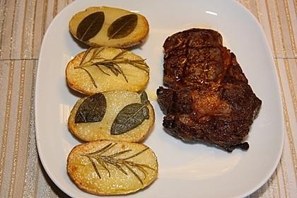 Ofenkartoffeln mit frischen Kräutern 14