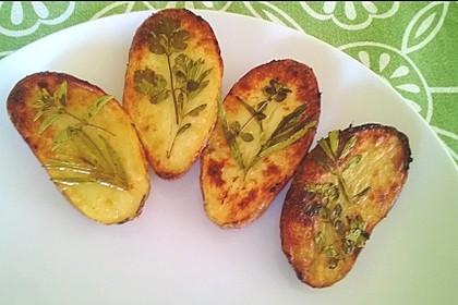 Ofenkartoffeln mit frischen Kräutern 12