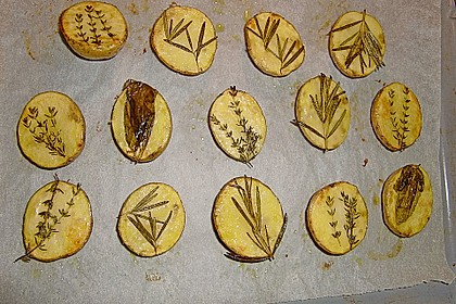 Ofenkartoffeln mit frischen Kräutern 38