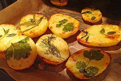 Ofenkartoffeln mit frischen Kräutern 15