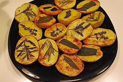 Ofenkartoffeln mit frischen Kräutern 25