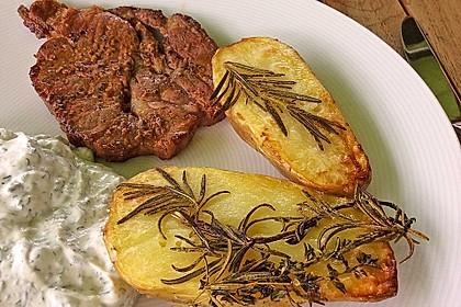 Ofenkartoffeln mit frischen Kräutern 13