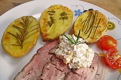Ofenkartoffeln mit frischen Kräutern 24